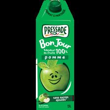 """Jus ABC pomme PRESSADE """"Bon Jour"""", brique de 1,5l"""