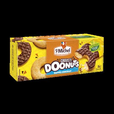 Donuts croustillant nappés chocolat au lait ST MICHEL, 180g
