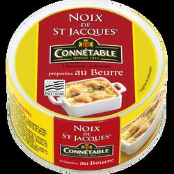 Noix de St Jacques au beurre JACQ, 205g