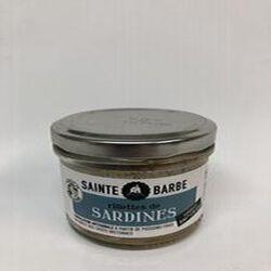 RILLETTES DE SARDINES 90GR
