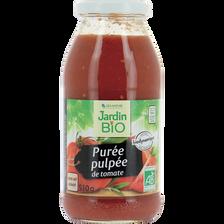 puree pulpeede tomates dynamie  bocal verre 510 g