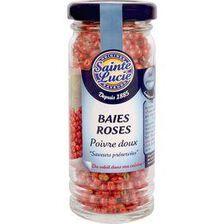 Baies roses SAINTE LUCIE, 25g