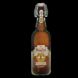 Bière may'bel au miel de chataigner BOURGANEL, bouteille de 75cl