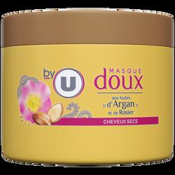Masque capillaire pour cheveux secs à l'argan BY U, pot de 300ml