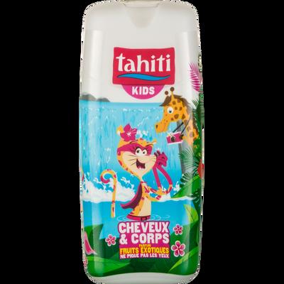 Gel lavant cheveux et corps parfum fruits exotiques TAHITI Kids, 300ml