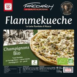 Tarte flambée aux champignons BIO FRIEDRICH, 2x260g