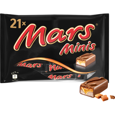 Mini barres MARS, sachet de 403g
