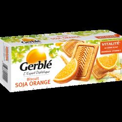 Biscuits au soja et à l'orange GERBLE, 280g