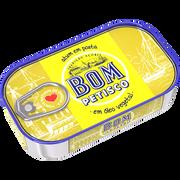Bom Petisco Thon À L'huile Végétale Bom Petisco, 120g