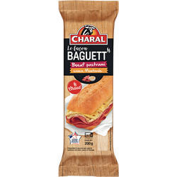 Le façon baguett' pastrami sauce fromage CHARAL, 200g