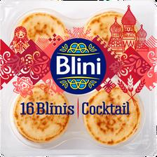 Blinis cocktail BLINI, 16 unités, 135g