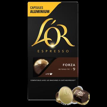 Bonne Maman Café Capsules L'or Espresso Forza X10
