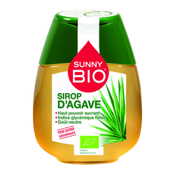 Sirop d'agave SUNNY BIO, doseur de 250g