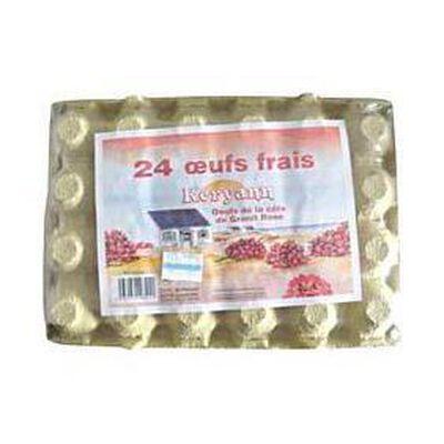 24 gros oeufs frais KERYANN