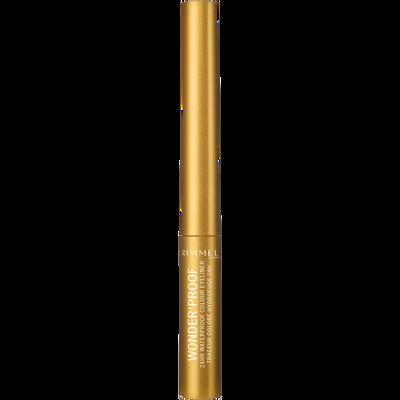 Eyeliner wonder'proof 007 shiny gold RIMMEL, blister, 1,4ml