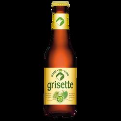 Bière blonde sans gluten bio GRISETTE, 5,5°, bouteille de 25cl