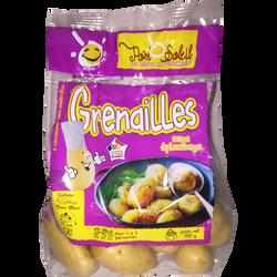 Pomme de terre grenaille gourmandine, de consommation à chair ferme, 28/35mm, cat.1, France, sht 750g