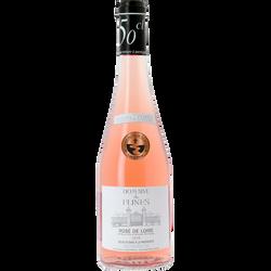 """Vin rosé AOP de Loire """"Domaine de Flines"""", bouteille de 50cl"""
