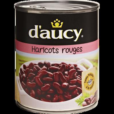 Haricots rouges D'AUCY, boîte de 500g