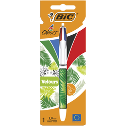 Stylo bille 4 couleurs BIC