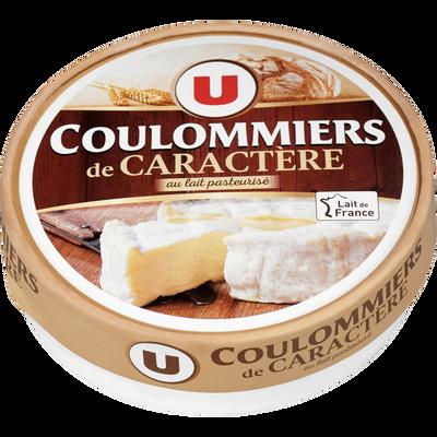 Coulommiers de caractère au lait pasteurisé U, 23% de MG, 350g