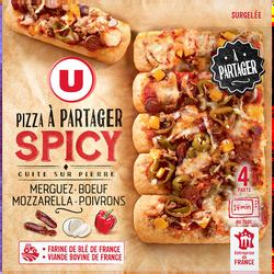 Pizza à partager spicy U, 500g