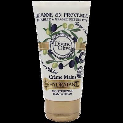 Crème pour les mains divine nourrissante olive JEANNE EN PROVENCE, tube de 75ml