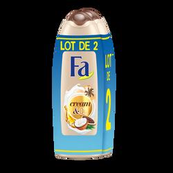 Gel douche cream oil cacao coco FA 2x250ml