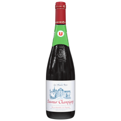 Vin rouge AOC Saumur Champigny Les hauts buis U, 75cl
