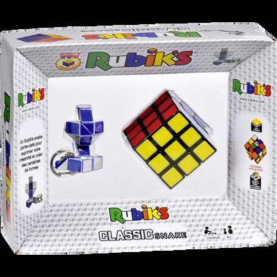 Coffret rubik's cube 3x3 + porte clefs