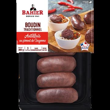 Regis Bahier Boudin Noir Antillais Bahier, X6 Soit 360g