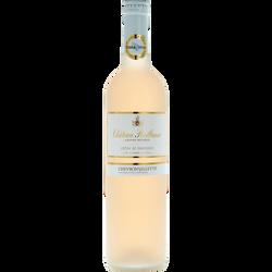 Vin rosé AOP Côtes de Provence Château Reillanne Grande Réserve , 75cl