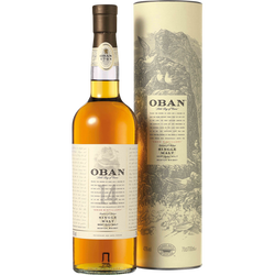 Scotch whisky single malt OBAN, 14 ans d'âge, 43°, 70cl