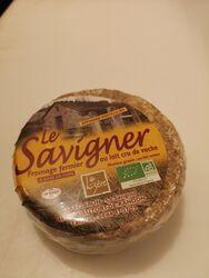 Fromage fermier Le Savigner au LAIT cru de vache 37.75%MG 300g