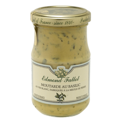 Moutarde au basilic EDMOND FALLOT, bocal 21cl