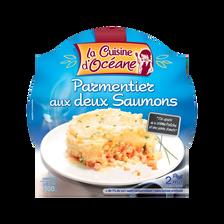 Parmentier aux deux saumons LA CUISINE OCEANE, 300g