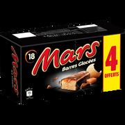 Mars Mars Glace Nappée De Caramel Enrobage Cacao,x18 Dt 4 Offerts Soit 752g
