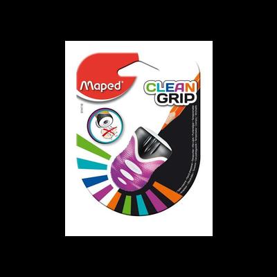 Taille crayon 1 trou Clean Grip MAPED, avec réservoir