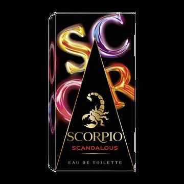 Scorpio Eau De Toilette Scandalous Scorpio, Vaporisateur De 75ml
