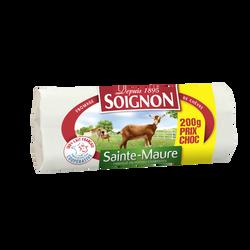 Fromage chèvre pasteurisé Sainte-Maure SOIGNON, 23%mg, 200g