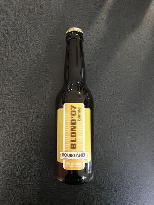 Bière bourganel blond'07 33cl