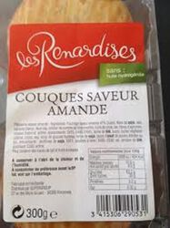 COUQUE SAVEUR AMANDES 300G Ren