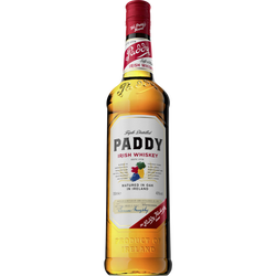 Irish whiskey PADDY, 40°, bouteille 70cl