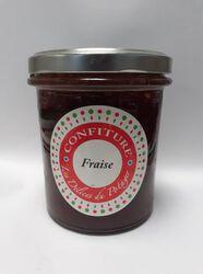 confiture de fraise  350g, LES DELICES DU POTAGER fabrication artisanale 78810 FEUCHEROLLES