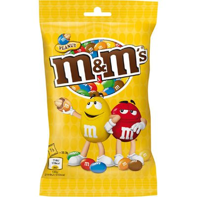 M&M'S CACAHUETTES 100G