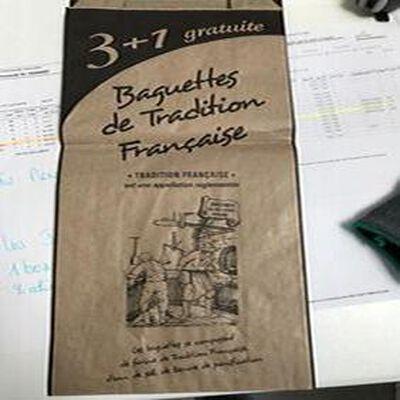 BAGUETTES DE TRADITION 3+1 OFFERTE