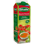 Alvalle Soupe Froide De Tomate Menthe Et Basilic Alvalle, Brique De 1 Litre