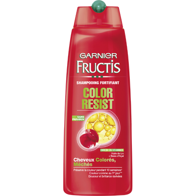 Shampooing Color Resist, FRUCTIS, flacon de 250ml