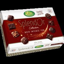 Lutti Chocolat Noir Splendor , 230g
