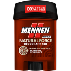 Déodorant natural force 24h MENNEN stick 50ml